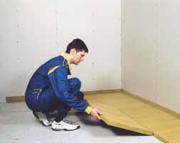 Odhlučnění podlahy v paneláku