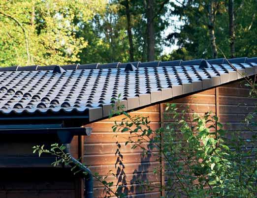 Minimální sklon střechy s plechovou krytinou
