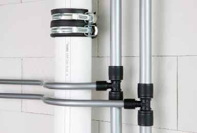 Systém instalace pitné vody RAUTITAN s domovní kanalizací RAUPIANO PLUS  (bílé trubky) 5bbc3b4c1ce