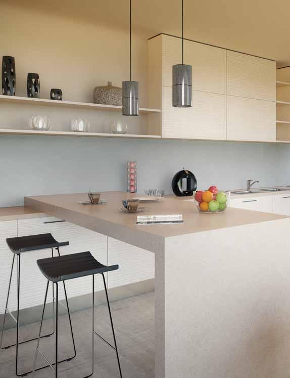 Pracovní kuchy u0148ské desky P u011bkné bydlení