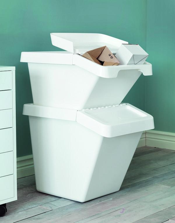 Um te spr vn t dit odpad p kn bydlen for Ikea bidoni