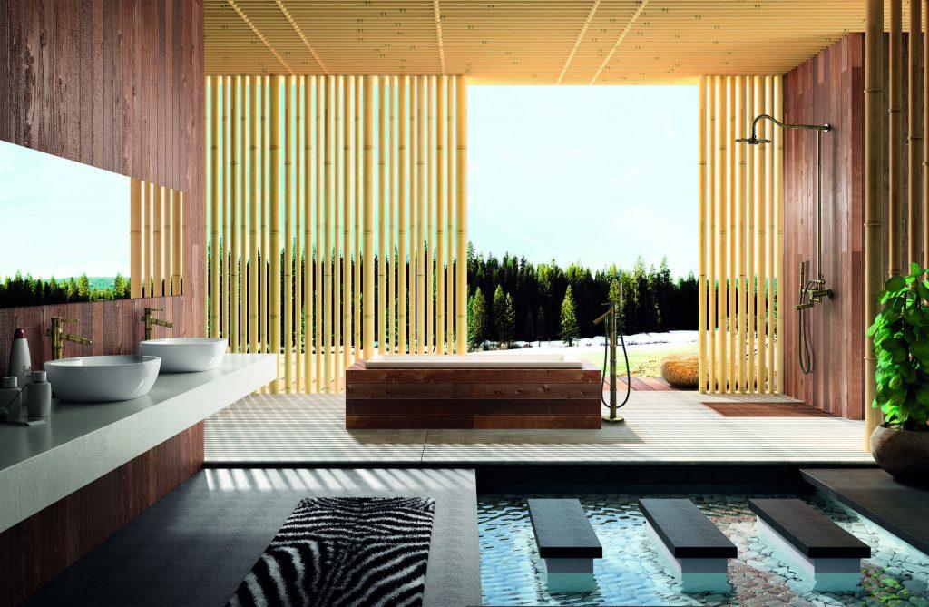 WATERFALL Bamboo-koupelna