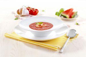 Melounove gazpacho