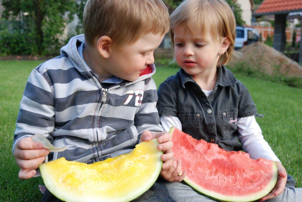 Melouny Bouquet_Deti a melouny