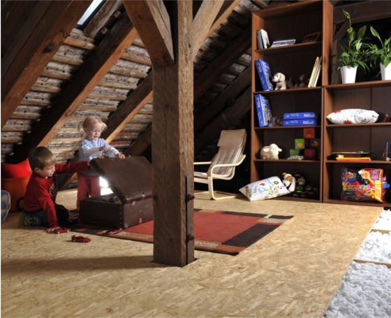 Stropní systém Magmarelax- tajný bunkr pro děti