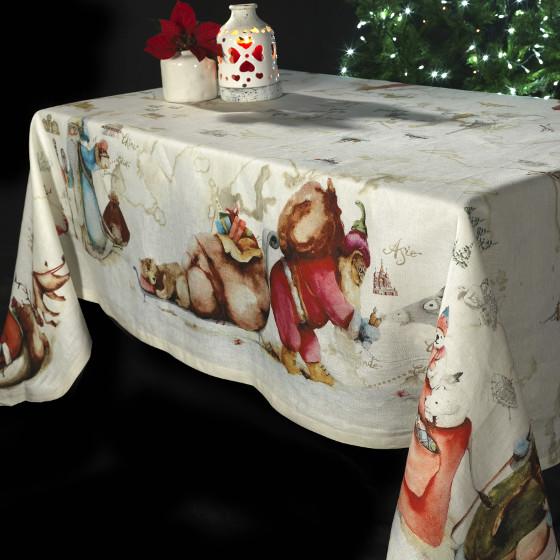 vánoční-lněný-ubrus-Vánoce