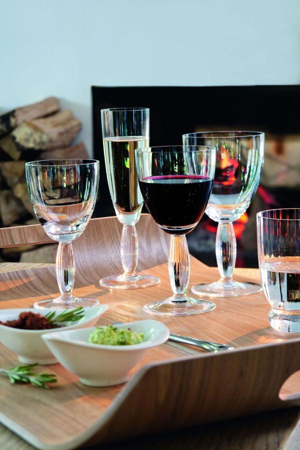 Luxurytable.cz - New Cottage Sklenice na červené víno, bíle víno, sekt a vodu, Villeroy & Boch, cena od 450 Kč