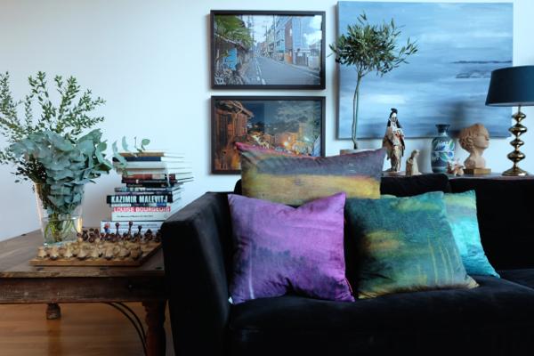 Carina Björck Cushions, Photos, Sculpture and Olipainting