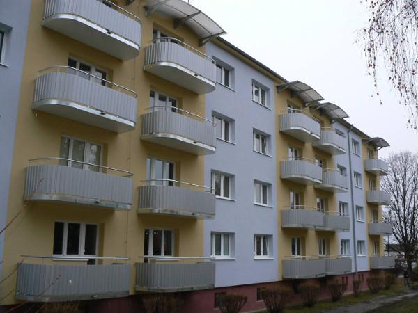Kompletni revitalizace s novymi balkony