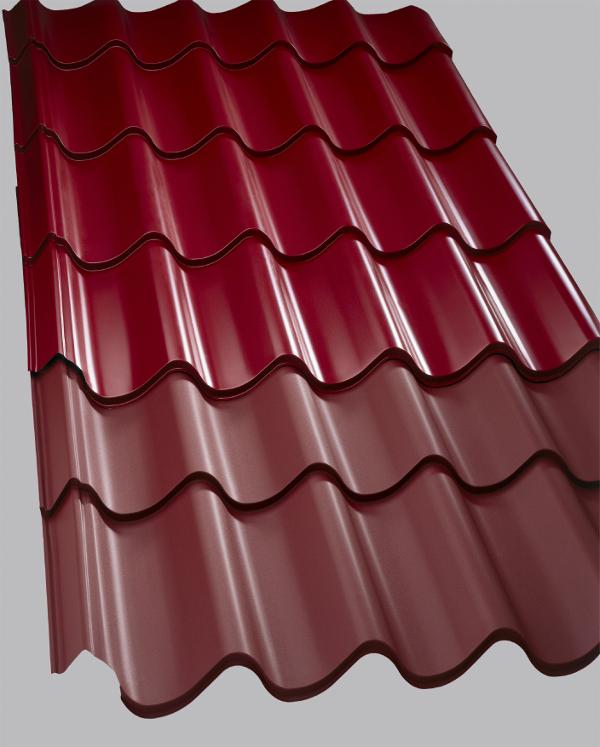 Lehká střešní krytina Lindab Topline je vyrobena ze švédské žárově pozinkované oceli, která je na horní straně opatřena několika vysoce účinnými ochrannými vrstvami. Je profilovaná do tvaru klasických střešních tašek s vysokým profilem, který dodává krytině větší tuhost a atraktivní vzhled s nepřehlédnutelnou výraznou vlnou. Dokonale propracovaná pojistná vodní drážka v místě napojení slouží jako ochrana proti zatečení i při extrémních povětrnostních podmínkách.
