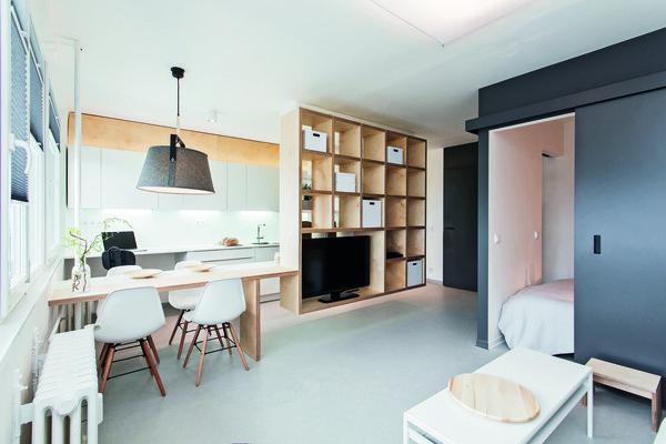 Znovuzrození Panelového Bytu Pěkné Bydlení
