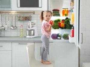Chladnička v kostce (i s mrazničkou)