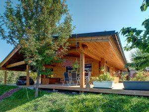 Domy a krásné stavby provoněné dřevem