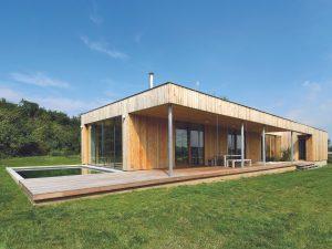 Moderní dům v souladu s přírodou
