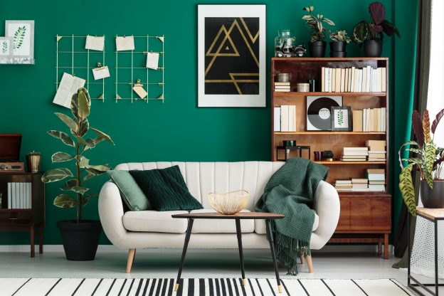 Obývací pokoj à la 50. léta