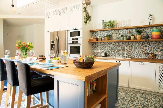 Funkční kuchyňský ostrůvek