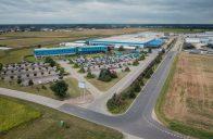Výstavba nového logistického centra v Rydzyně